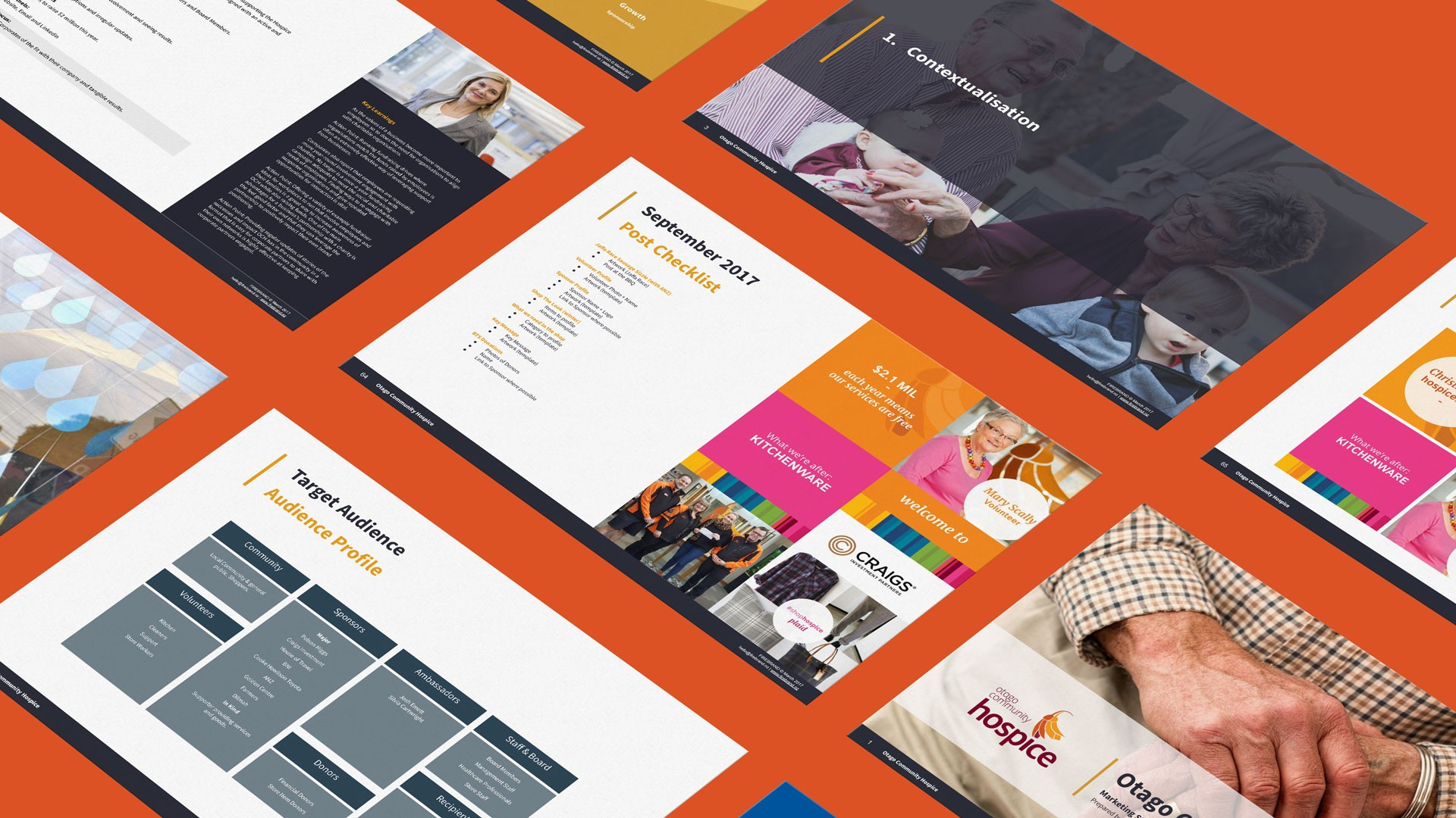 Otago C Hospice 03 A4 Page horizontal orange