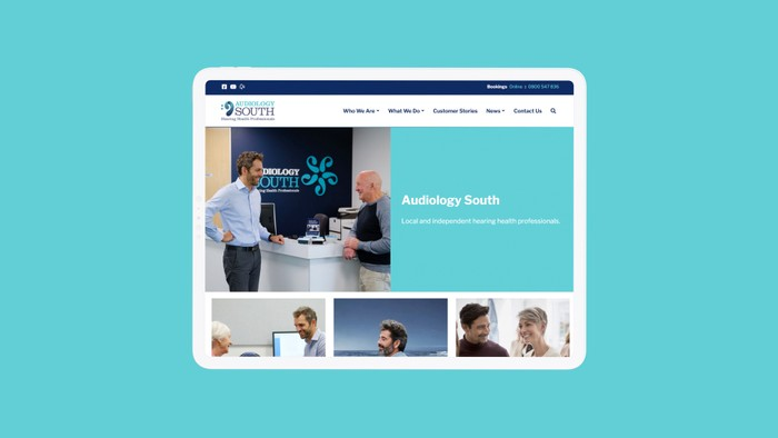 Audiology South Website