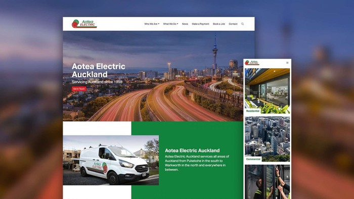 Aotea Electric Auckland's Comprehensive New Website Launches